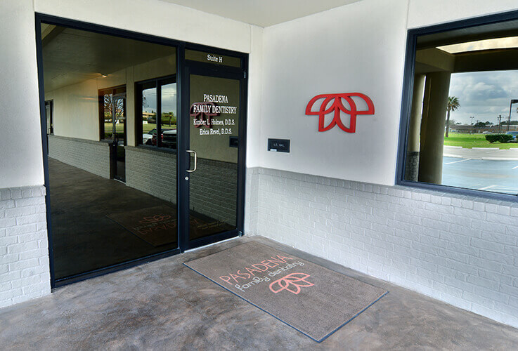 Front door Pasadena Family Dentistry