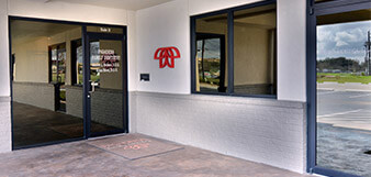 Entry way of Pasadena Family Dentistry